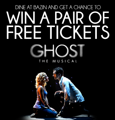 Win a FREE PAIR of Tickets for GHOST THE MUSICAL