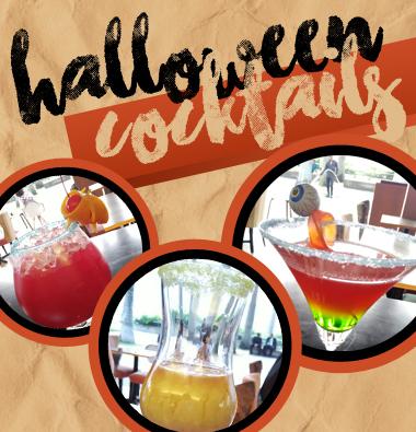 Bazin Halloween Cocktails